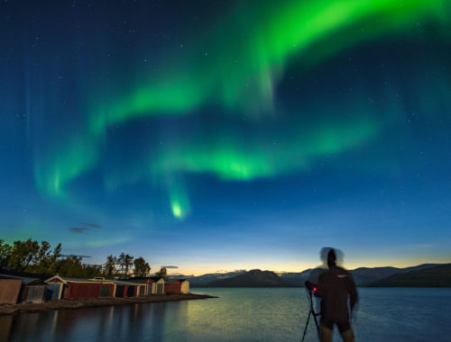 Are you wishing that you could photograph the Northern Lights?