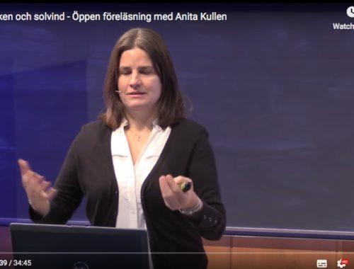 Norrsken och solvind – Öppen föreläsning med Anita Kullen