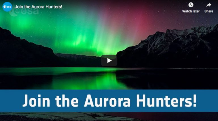Join the Aurora Hunters at ESA!