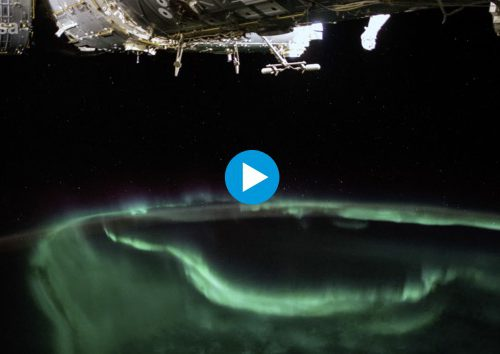 Horizons mission time-lapse – The dancing aurora