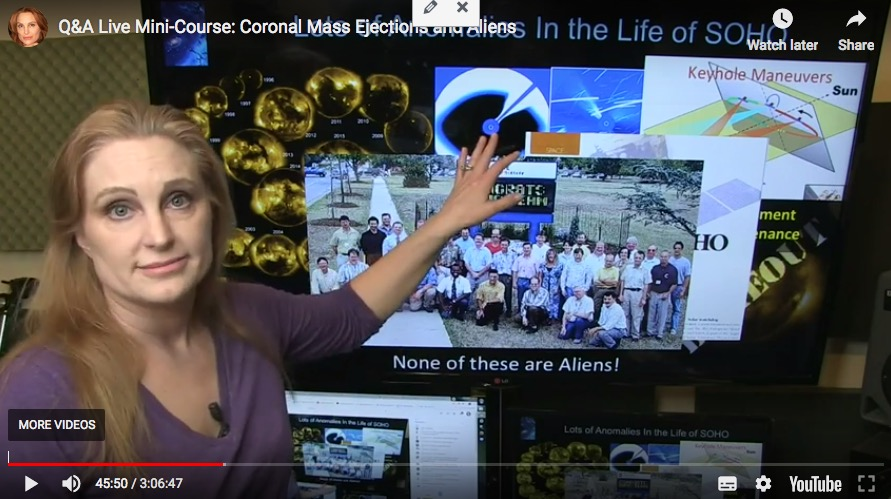 Q&A Live Mini-Course: Coronal Mass Ejections and Aliens