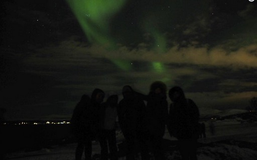 The #aurorahunters say farewell in Tromsø