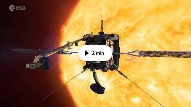 Europeisk sond lyfter mot solen