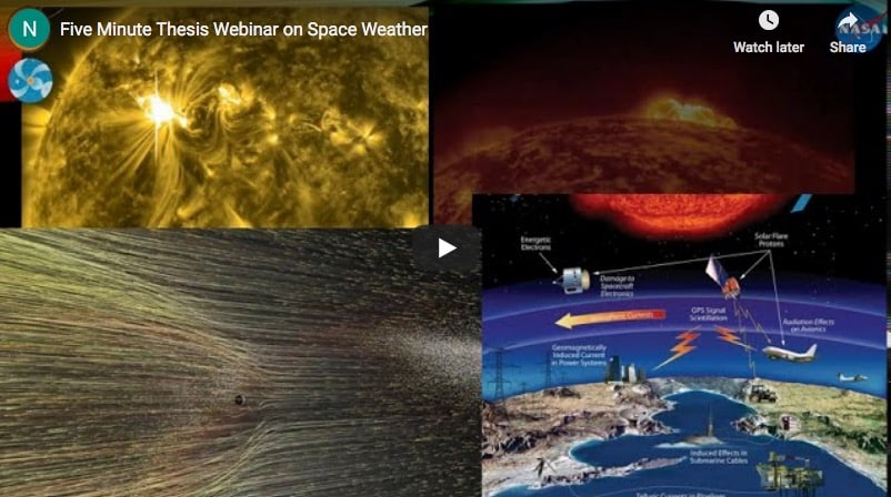 Space Weather Webinar now Available for Viewin